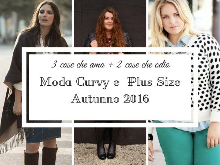 Moda curvy e Plus Size 2016