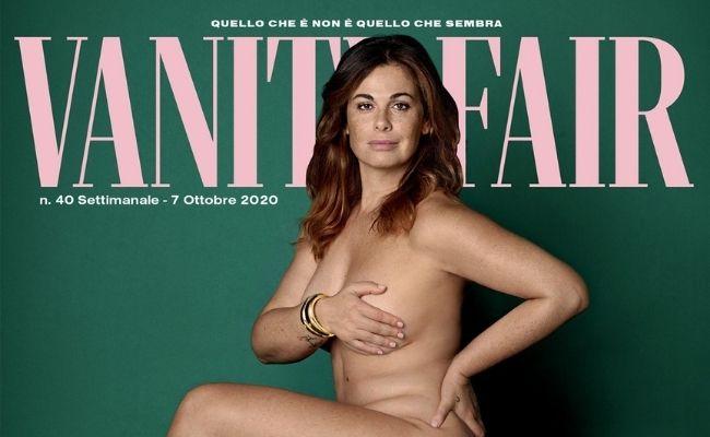 Copertina Vanity Fair con Vanessa Incontrada